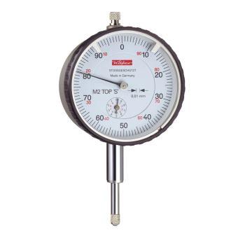Messuhr 0,01mm / 10mm / 58mm / Stoßschutz / ISO 463 - DIN 878 10143