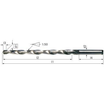 Stiftlochbohrer HSS DIN 1898 A 1,5 mm zyl.