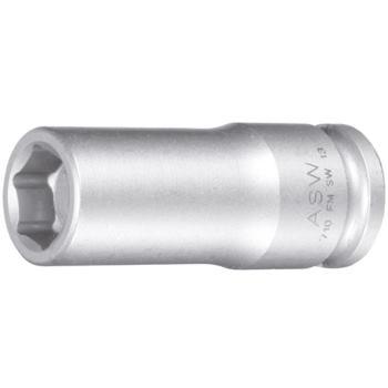 ASW Steckschlüsseleinsätze 3/8 Inch SW 12 mm 55 mm