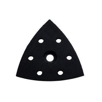 Gelochte Dreieckschleifer-Schleifplatte mit Kletth
