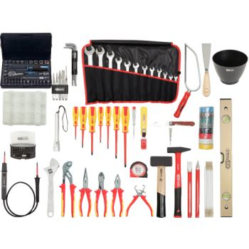 Premium Elektriker-Werkzeugkoffer, Nylontasche 117