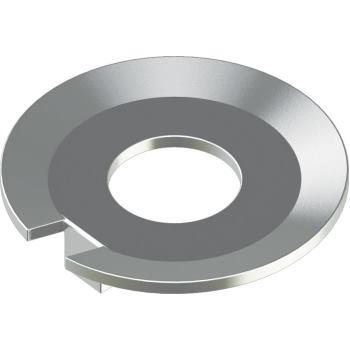 Sicherungsbleche mit Nase DIN 432 - Edelstahl A2 4,3 für M 4