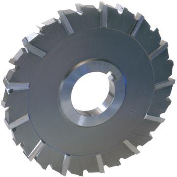 Scheibenfräser HSSE kreuzverzahnt 80x10x27 mm DIN