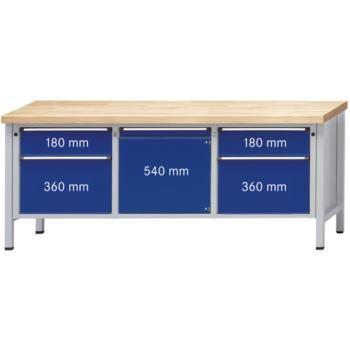 Werkbank Modell 221 V UBP Tragfähigkeit 1500