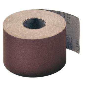 Schleifgewebe-Rollen, braun, KL 361 JF , Abm.: 120x50000 mm, Korn: 80