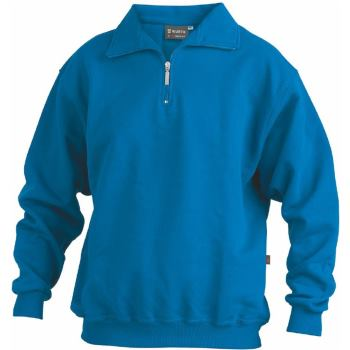 Sweatshirt Zip royal Gr. L