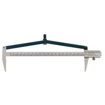 Zirkelmessschieber 200 mm aus gehärtetem Stahl