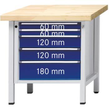 Werkbank Modell 29 V UBP Tragfähigkeit 1500kg