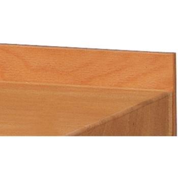 Abroll-Leiste aus Buche Multiplex 800x90x14 mm, Lx