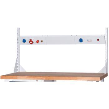 Energieleiste schräg HV Länge 1440 mm RAL 7035