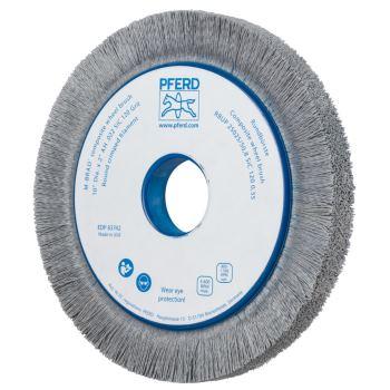 Rundbürste mit Plastikkörper, ungezopft RBUP 25025/50,8 SiC 120 1,10