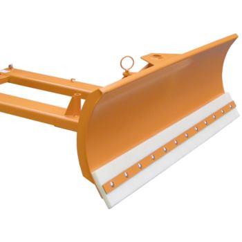 Schneeschieber Schildbreite 2400 mm, mit Polyureth