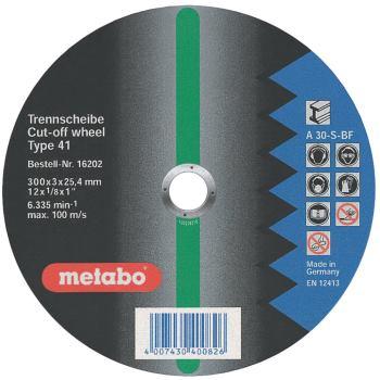 Flexiamant super 400x4,0x25,4 Stahl, Trennscheibe,