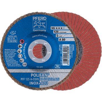 POLIFAN®-Fächerscheibe PFF 125 A 80 SG-COOL/22,23