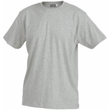 T-Shirt grau-melange Gr. XXL