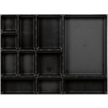 Ordnungssystem 12-teilig Abm. Matte BxT 576x432mm