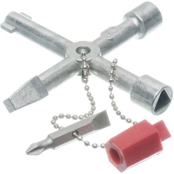 Universalschlüssel für Masten mit Außen-Vierkant