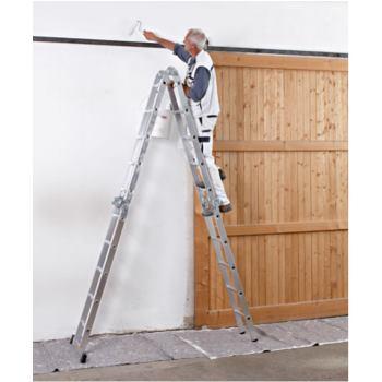 Vielzweckleiter 4-teilig Leiterlänge 4,19m