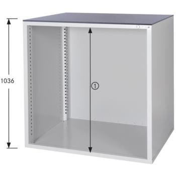 Schrankgehäuse System 800 B, Modell B8/32 GS -