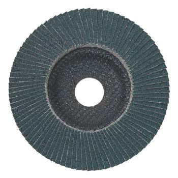 Lamellenschleifteller 125 mm P 120, Zirkonkorund,