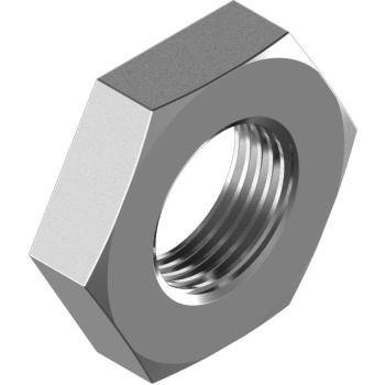 "Rohrmuttern DIN 431- Form B - Edelstahl A4 G 1 1/8"" SW50"