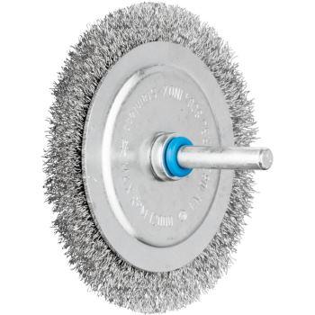 Rundbürste mit Schaft, ungezopft RBU 8004/6 INOX 0,20