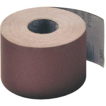 Schleifgewebe-Rollen, braun, KL 361 JF , Abm.: 115x50000 mm, Korn: 60