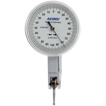 Fühlhebelmessgerät 0,001 mm Skw. 0,2 mm Messspanne 40 mm