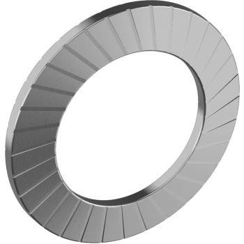Sicherungsscheiben Typ S - Edelstahl A2 3,7 für M 3,5
