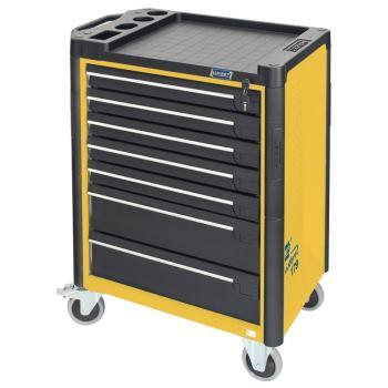 Werkstattwagen 179-7 in gelb - inkl 141 Werkzeuge