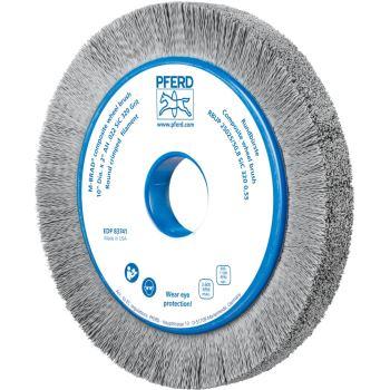 Rundbürste mit Plastikkörper, ungezopft RBUP 25025/50,8 SiC 320 0,55