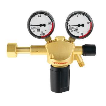 Sauerstoff-Druckminderer mit Manometer