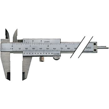 parallaxfreier Messschieber 150 mm mit Feststells