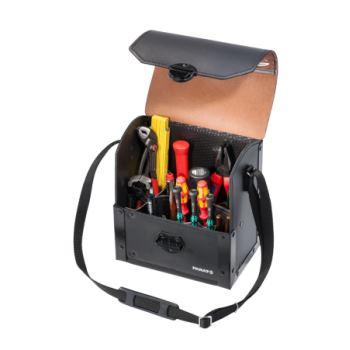 Werkzeugtasche Rindleder 220 x 140 x 250 mm