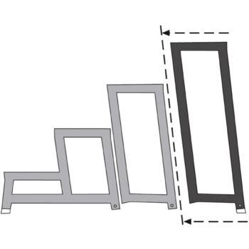 Geländer für LM-Modul-Arbeitspodest