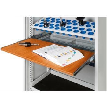 Ablageplatte ausziehbar aus Buche-Multiplex 20 mm