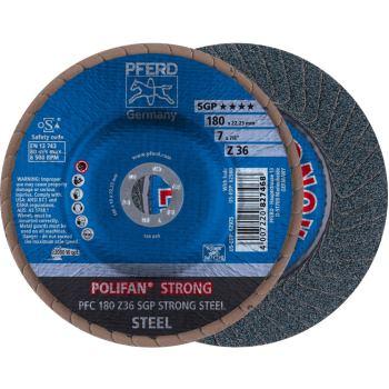 POLIFAN®-Fächerscheibe PFC 180 Z 36 SGP-STRONG/22,23