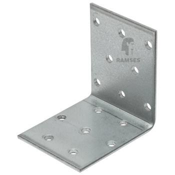 Lochplattenwinkel m. Zulassung Stahl verzinkt 80x80x80x2.5 50 St.