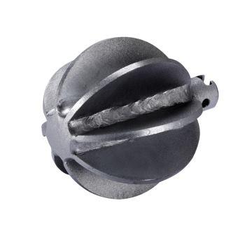 Kugelkopffräser, 8-Blatt, 22K, D=90mm