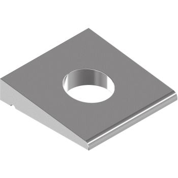 Vierkant-Keilscheiben DIN 435 - Edelstahl A4 f.I-Träger - 11 f.M10