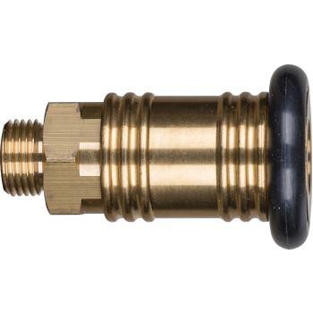 Selbstabstellende Ventilkupplung mit Außengewinde VKA 1/2 NW 12