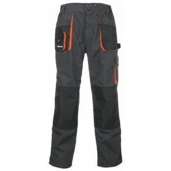 Bundhose dunkelgrau/orange Gr. 64