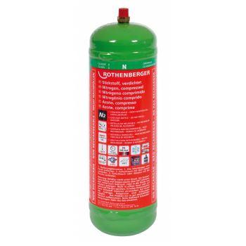 Stickstoff-Flasche 1kg, 950cm3, 110bar