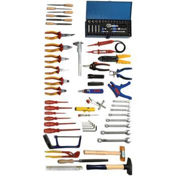 Werkzeugsortiment 92-teilig für Industrieelektroni