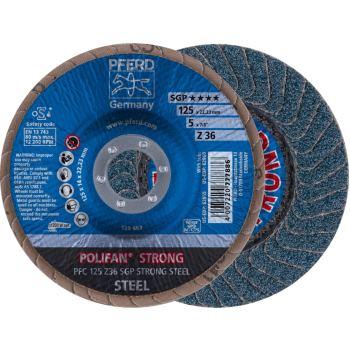 POLIFAN®-Fächerscheibe PFC 125 Z 36 SGP-STRONG/22,23
