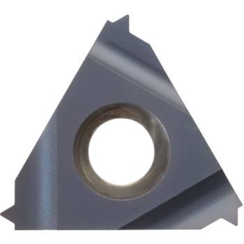Vollprofil-Wendeschneidplatte Innengew.links 11IL 0,8 ISO HC6615 Stg.0,8