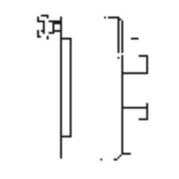 ES 400, 4-Backen, DIN 6351, Form A, Stahlkörper