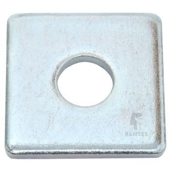 Scheiben vierkant DIN 436-V Stahl verzinkt 17.5x5x50 100 St.