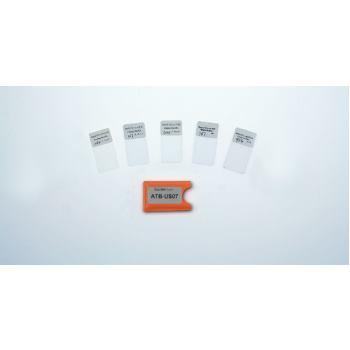 Justierfolien für Schichtdickenmessgeräte ATB-US07