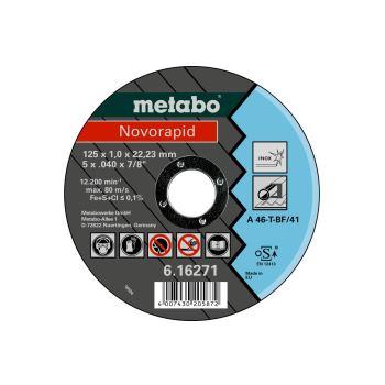Novorapid 125 x 1,0 x 22,23 mm, Inox, Trennscheibe